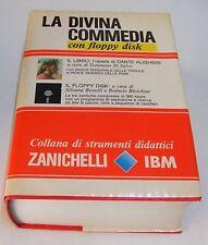 La Divina Commedia . con floppy disk . Zanichelli . 1991