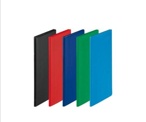 Taschenkalender 2020 Rot Faltkalender