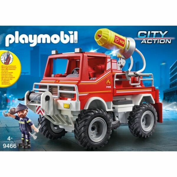 Playmobil 9466 Feuerwehr-Truck NEU OVP Playmobil