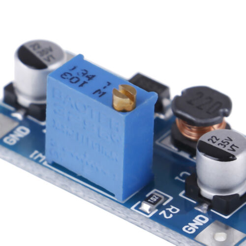 2A DC-DC boost step up volt converter power supply 2V-24V to 3v 5v 6v 9v 12YEZY