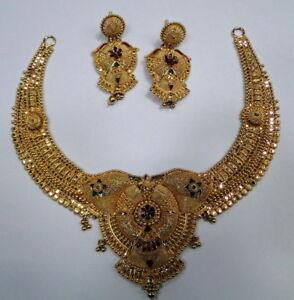 22k-solid-gold-choker-Necklace-fine-handmade-jewelry-13050