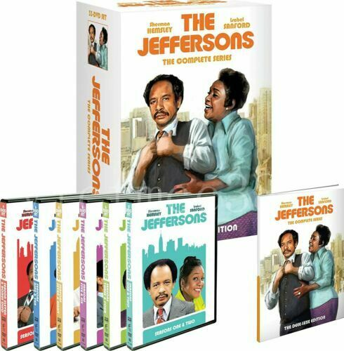 THE JEFFERSONS  Complete Series Box Set ~NEW~ w/Bonus Features **U.S. SELLER**