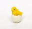 Die-cast-Plastic-Little-Chicks-and-Eggs-Set-of-12-German-Import-IV3-3623 thumbnail 9