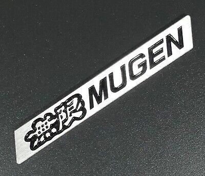 Black x1 3D Car Trunk Emblem Badge Sticker Decal MUGEN for HONDA CIVIC ACURA