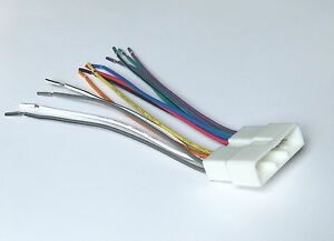 honda acura 86 99 wire harness for aftermarket radio hwh 804 4150 ebay  image is loading honda acura 86 99 wire harness for aftermarket