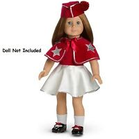 American Girl Emily's Tap Costume Outfit Retired Cape Shoes No Doll
