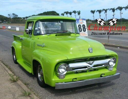 1953 1954 1955 1956 Ford F-100 Pickup Truck 3 Row Champion DR Radiator