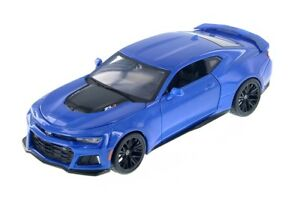 MAISTO-1-24-Scale-2017-Chevrolet-Camaro-ZL1-Diecast-Car-Model-BLUE-or-RED