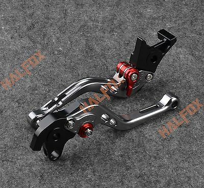 NTB Gray brake clutch levers Honda HORNET250  CBR400RR CB400SF