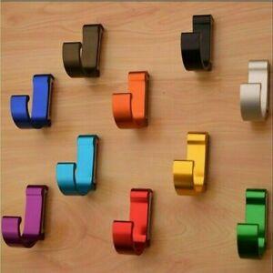 Colorful-Aluminum-Wall-Mounted-Coat-Robe-Hooks-Clothes-Bag-Towel-Hanger-Hook