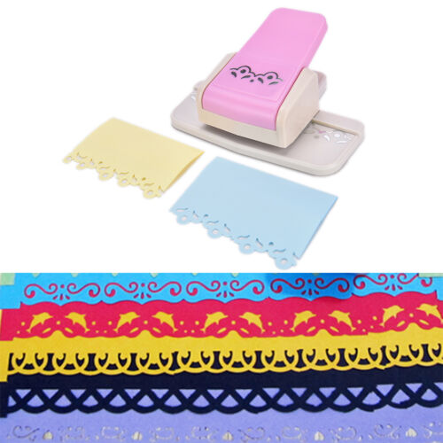 Fancy border punch S flower design embossing Punch scrapbooking paper cutter JCA