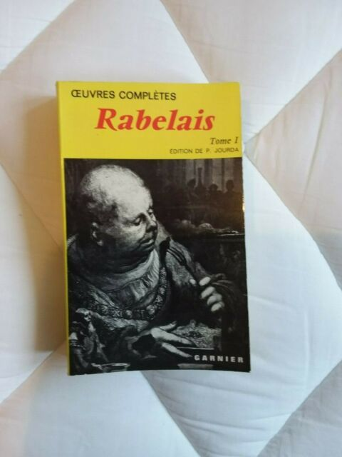 Rabelais Oeuvres completes tome 1