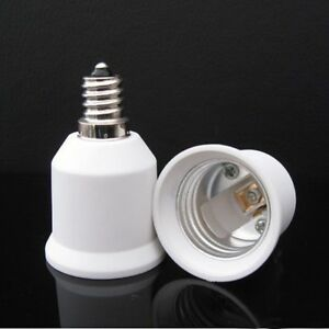 1x led light bulb e12 e27 adapter converter lamp holder. Black Bedroom Furniture Sets. Home Design Ideas