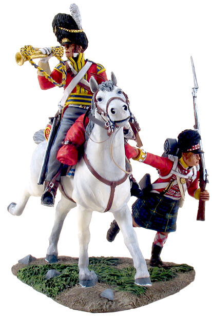 BRITAINS 36061  Forward Gordon's  No.2, Scots Grey Bugler and Gordon Highlander