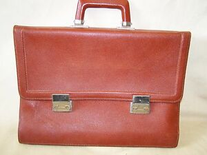 Old-School-Bag-GDR-Briefcase-Leather-Bag-School-Bags-Top-Condition
