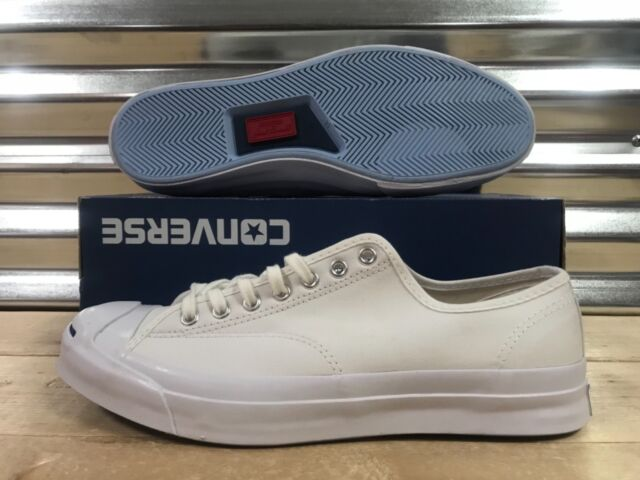 75e924ec0411d5 Converse Jack Purcell JP Signature OX Canvas Shoes White Blue SZ 13 (  147564C )