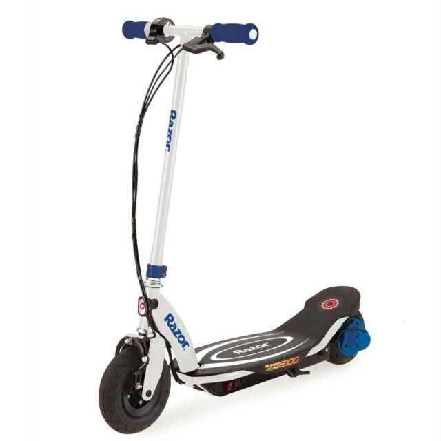 Razor Power Core E100 Electric Scooter Blue For Sale Online Ebay