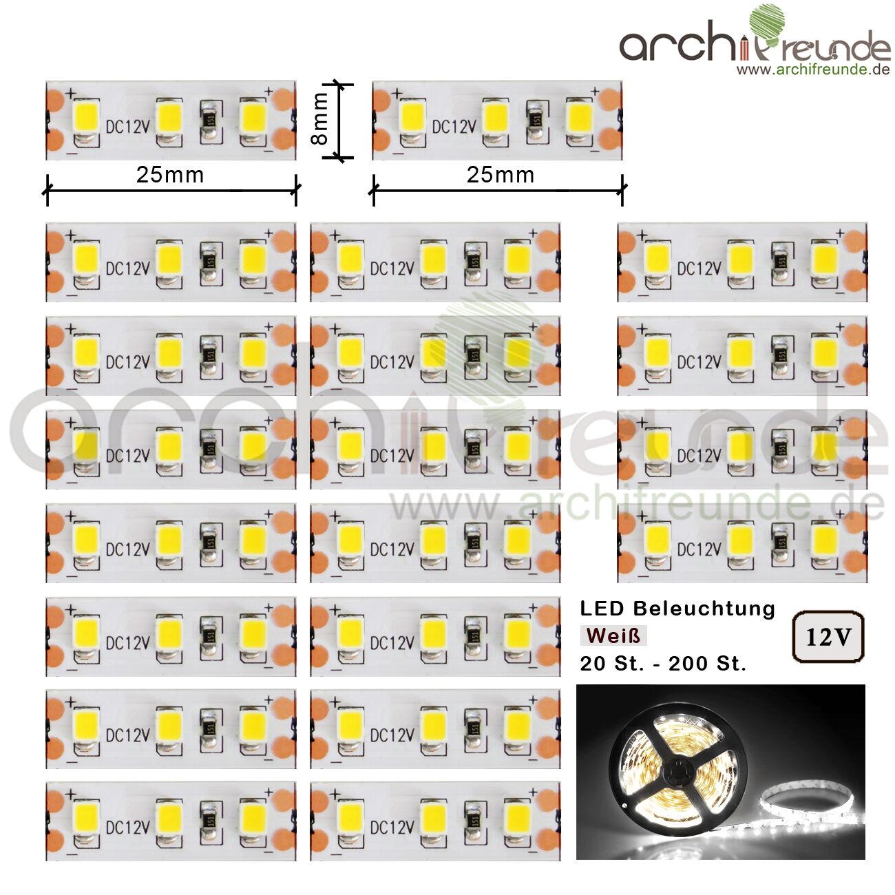 20 Pièce jusqu'à 200 Pièce LED Modèle éclairage 2,5cm bianca Quai éclairage