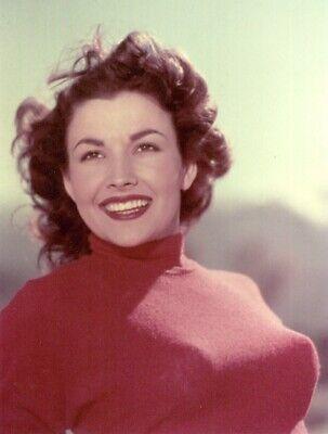 1950 S Sci Fi Film Icon Mara Corday Red Sweater 8x10