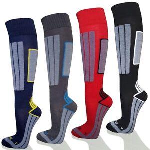 Skistruempfe-B-WARE-Skisocken-Coolmax-Ski-Snowboard-Socken-Kniestruempfe-NEU-IIl