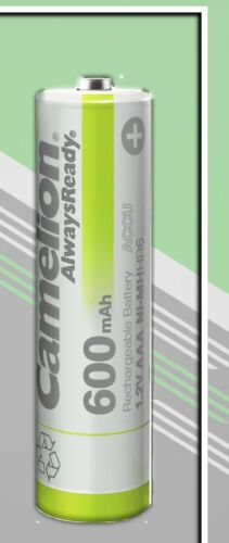 Camelion 600mAh AAA Akku Solar Micro für zB Solar Gartenleuchte Leuchte 1-96 Stk