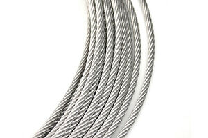 50Meters SS304 OD 0.8MM 7*7 Stainless Steel Wire Rope Fishing Wire ...
