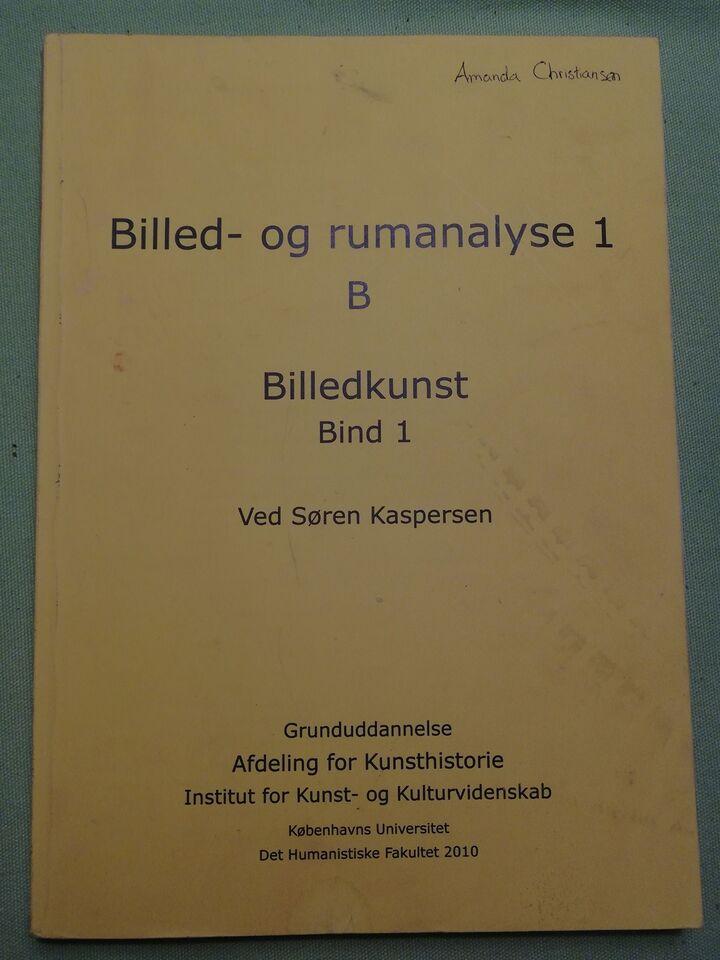 Kompendium Billed- og rumanalyse I B Bind 1, Institut for