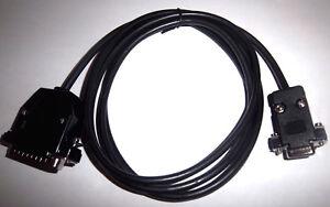 RS232-NEGRO-Serial-DSUB-9-Pines-25-Cable-Datos-para-Modem-MODELOS