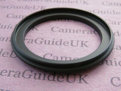 52-62mm 62-52 mm Male to Male Double Coupling Ring reverse macro Adapter 62-52mm