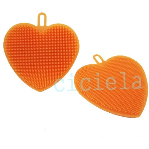 Silicone Sponge Kitchen Antibacterial Cleaning Tools For Dish Washing Scrubber