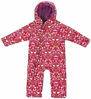 Trespass Breezy Baby Girls Kids Newborn Ski Snow Insulated One Piece Suit