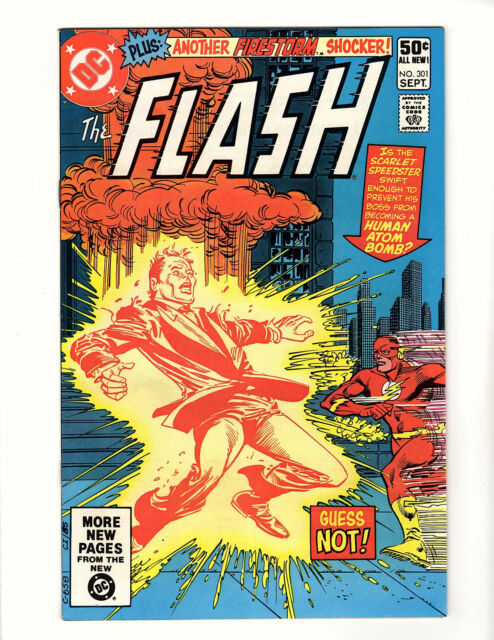 The Flash #301 (1981, DC) VF- Barry Allen Carmine Infantino Firestorm Back-Up