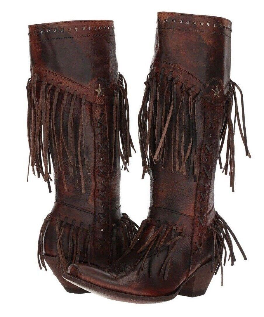 Old gringo para mujer Western Cowboy de moda botas de óxido Chocolate YL255-1 US 9
