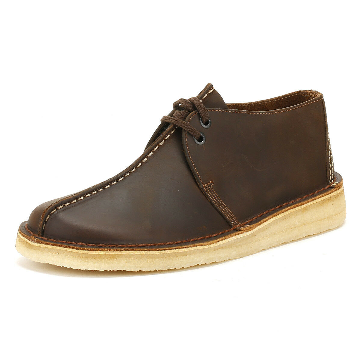 Clarks Clarks Clarks Mens Beeswax Leather Desert Trek schuhe Lace Up Smart Casual    e0d3d9