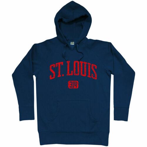 MO Missouri Cardinals Rams STL Saint Blues Men S-3XL St Louis 314 Hoodie