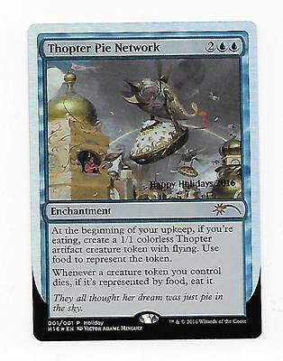 English MT NM Thopter Pie Network 2016 Holiday Promo Unique /& Misc Promos