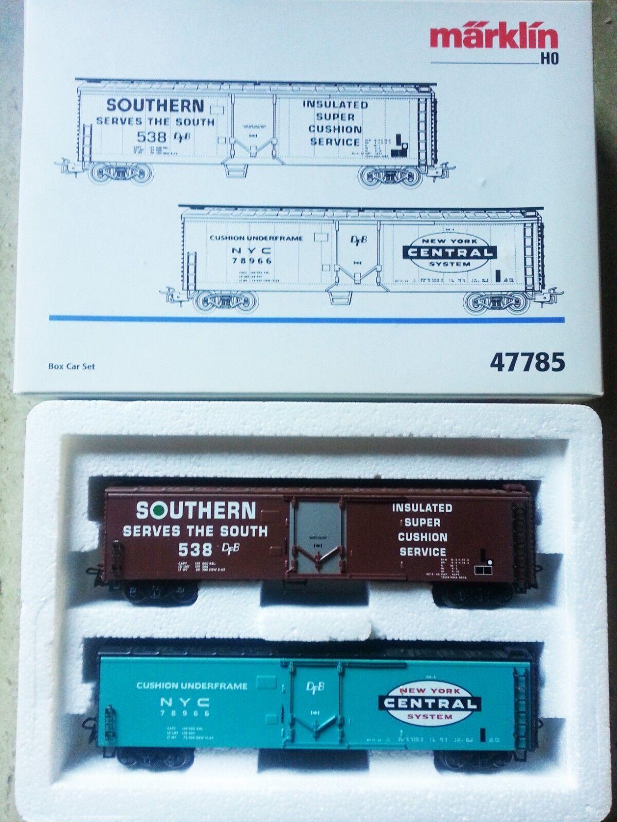Marklin 47785  Box Car Set