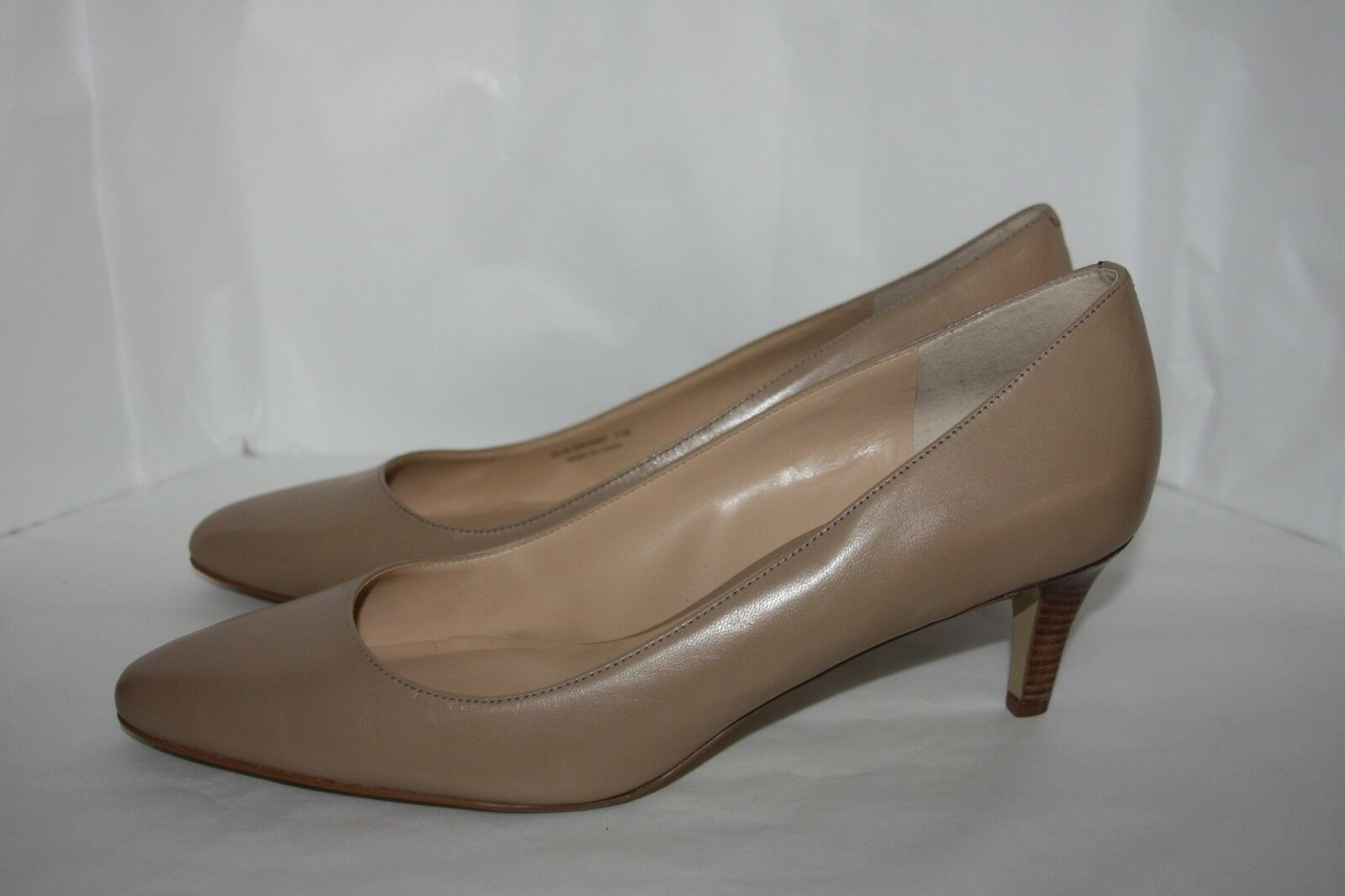 Cole Haan Lena Mid II Pump II Mid Maple Sugar women's size 11 b 62a7bd
