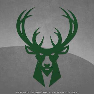 Milwaukee Bucks NBA Logo Vinyl Decal Sticker And Larger - Custom vinyl decals milwaukee