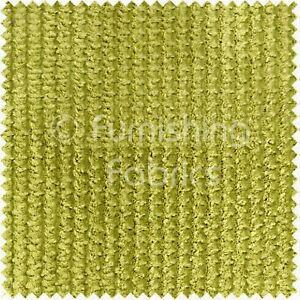 Soft-Velvet-Waffle-Ripple-Jumbo-Cord-Upholstery-Material-Sofas-Fabric-Lime-Green