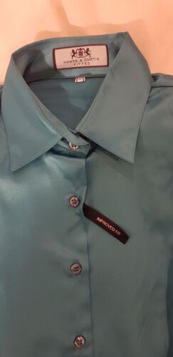 Hawes Curtis Donna Size Novità Blue 10 00 69 Shirt £ Donna rrBgwRq