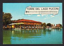 TORRE DEL LAGO PUCCINI (ITALIE) RESTAURANT MANFREDI en 1972