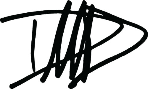 Nirvana  Guitar Headstock Dave Grohl Autograph VINYL DECAL Foo Fighters