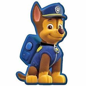Paw Patrol Form Deko Kissen Chase Kinder Dekokissen Pluschkissen