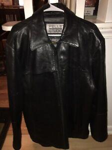 Men-039-s-Pelle-Studio-Wilsons-Leather-Coat-Thinsulate-interior-2XLT