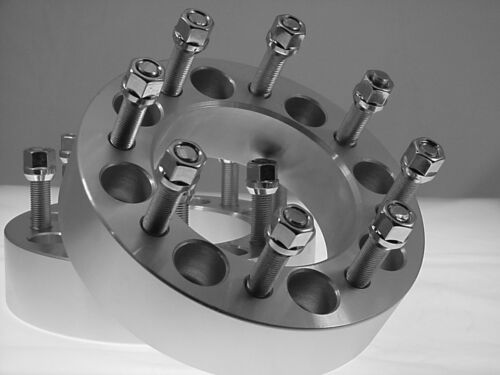 2 Pc 1988-2010 CHEVY HD 3500 WHEEL SPACER ADAPTERS 2.50 Inch # AP-8650G1415