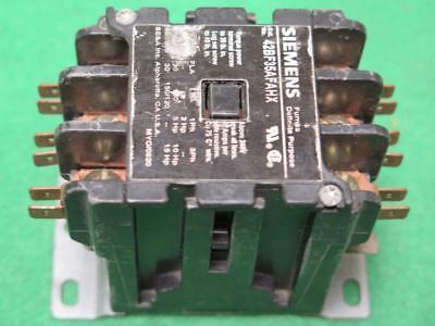 Details about  /SIEMENS 42FE35AF306R CONTACTOR 110//120V *USED*
