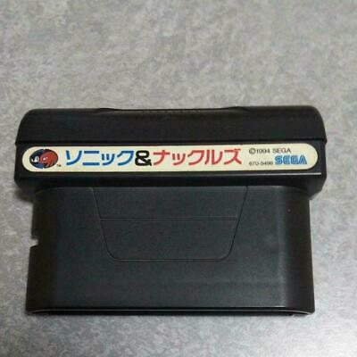 Mega Drive SONIC and KNUCKLES ref/096 Cartridge Only Sega ...