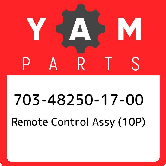 Yamaha OEM Part 703-82540-00-00