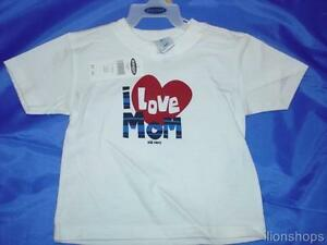 Old-Navy-I-Love-Mom-T-Shirt-NEW-Tee-Child-Toddler